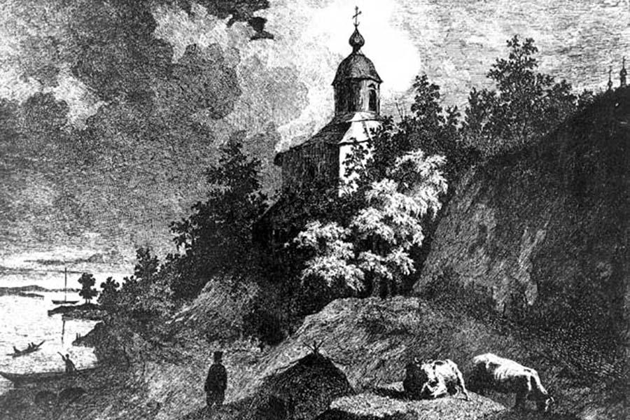 Шевченко_Видубицький_монастир