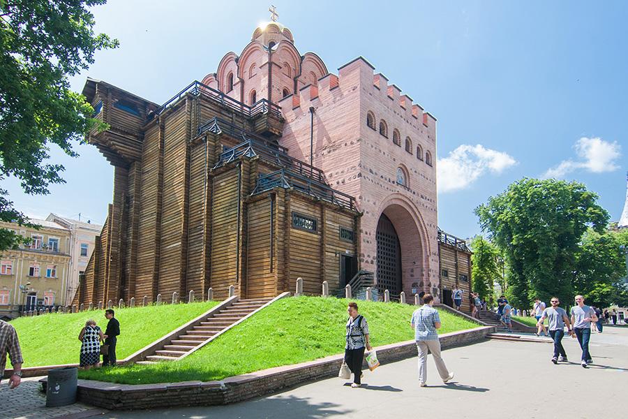 2_Золотые ворота_Киев
