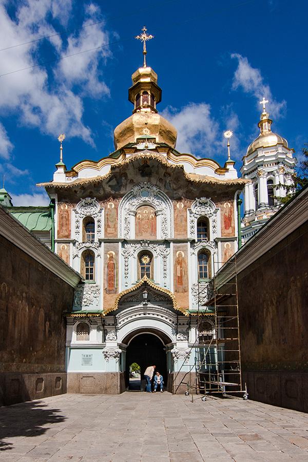 4_Троицкая церковьКиево-Печерского монастыря