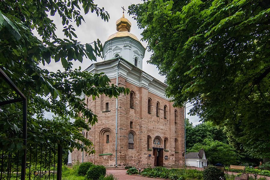 5_Церковь Архангела МихаилаВыдубицкого монастыря