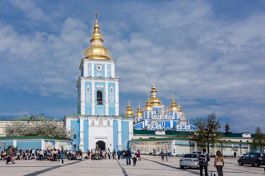 6_Собор архангела МихаилаМихайловского Златоверхого монастыря_Киев