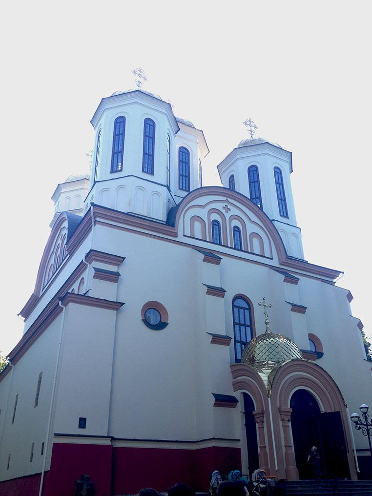 Богоявленська церква на території замку