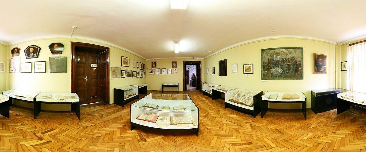зала історичного музею, фото музею.