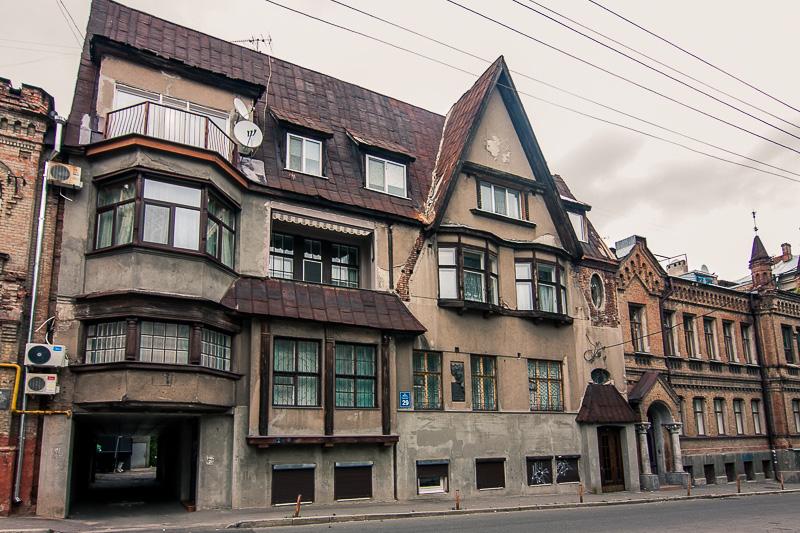 будинок режисера Н. Синельникова